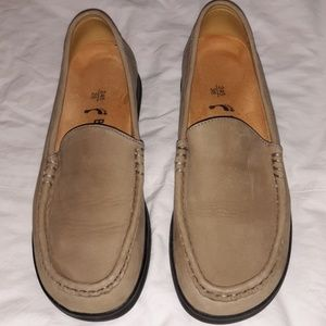 Leather Birkenstock Slip-On Loafers Shoes US8 UK38